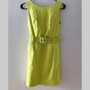 Banana Republic dress with belt and pockets